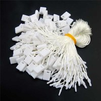 Пряжа 500 шт. / Лот Одежда Hang Tag String 7 '' Бумага Качество Качество Хантаг Шнур