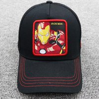 Marvel Comics hat Classic high quality Comics series net men and women cap hip-hop baseball cap embroidered cap