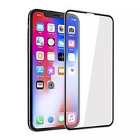 For Iphone XS MNX XR XS 8plus 5D Curved Tempered Glass Full ...