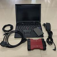 pour F-ord VCM2 Outil de diagnostic pour scanner VCM2 IDS V101 obd2 outil vcm 2 avec 320 Go de disque dur dans un ordinateur portable usagé X201 I7 8G