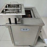 Machine de fabricant de fabricant de machine popsicle moulée en acier inoxydable 1 moulée avec 1 moule et réfrigérant