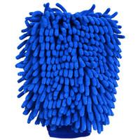 Mikrofaser-Auto-Motorrad-Waschhandschuh-Reinigung Autopflege DetAlling-Produkte Super Mitt-Mikrofaserwaschmaschine