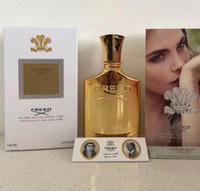 Yeni Creed uzun ömürlü zaman kaliteli yüksek koku capactity ile 120ml erkekler için parfüm Aventus