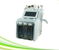 6 в 1 салон спа вакуум Черноголовых Remover гидры лица машина микродермабразии