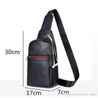 Mini-Handtasche Teenager-Alte Junge Brust Taschen Adult Praktische Tasche Men Casual Travel Outdoor Sport Fahrradschultertasche PU Schwarz