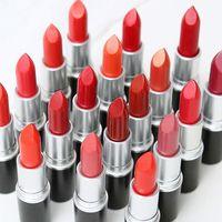Rouge à lèvres mat Lip Gloss 25 couleurs de maquillage Lustre rétro Lipsticks gel sexy MatteLipsticks 3g 25 couleurs avec des rouges à lèvres anglais Nom en stock