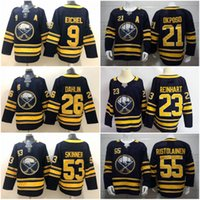 Men Women Youth 2019 Stitched adlads Buffalo Sabres Blank #1...