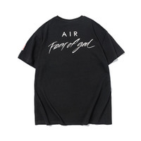 2020 SİS tanrı grafiti marka işbirliği tasarımcı Tshirt Moda Erkekler Kadınlar Tişörtlü Casual Pamuk Tee İlkbahar Yaz Elbise Tshirt arasında korku
