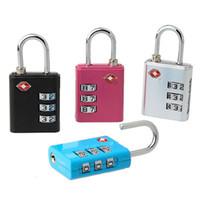 إعادة توطين سفر الأمتعة قفل 11 أنماط TSA أقفال جمركية 4 أرقام رمز مزيج قفل حقيبة قفل أمنية عالية القفل BH2403 TQQ