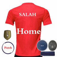 2020 Customized SALAH jersey 6 Times Version Stars Champion ...