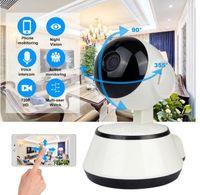 WiFi IP Camera Surveillance 720P HD Vision nocturne Deux méthode Vidéo sans fil Caméra CCTV Caméra Baby Monitor Système de sécurité Accueil