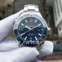 Yeni Fabrika Otomatik Cal.8900 Hareketi İzle Mavi Seramik Takvim Okyanus Saatler Tam Çelik Dalış 600m Planet Aydınlık 43.5 mm Wristwatche