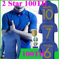 MBAPPE FR 100 years Soccer Jersey 100th anniversary Soccer S...