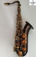 Fransız Japonya Yanagisawa W037 Tenor B düz tenor saksafon aletleri enstrüman hakiki altın siyah nikel Profesyonel seviye Ücretsiz kargo