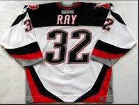 Custom Men Youth women Vintage # 32 ROB RAY Buffalo Sabres 1999 CCM Hockey Tamanho S-5XL ou personalizar qualquer nome ou número