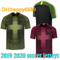 05a4a32c3 New Arrival. 2019 englands Remix Pre Match Shirts 2020 kane dele RASHFORD  STERLING HOT PINK light green volt accents soccer jersey