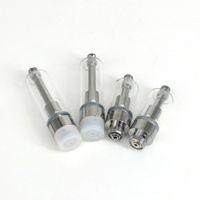 .5ml 1 ml 510 fio de vidro cerâmico Bobina TH205 TH210 extrair petróleo Vape Carrinhos com ponta cerâmica Para Thick CO2 viscoso Oil