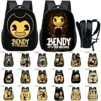 "13"" Bendy And The Ink Machine School Bags Backpack Kids..."