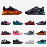 Nike Air max 720 airmax 720 Stock X Desert Gold 720 Men women Running Shoes Triple Black 720s Be true University Flash Sea Forest Volt Mens Sports Designers Sneakers