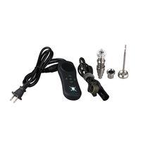 Portable IE-Nail Mini E Nail Kit numérique électrique Dab TC Boîte 16 mm Coil Titanium Heater Quartz hybride cire à base de plantes 100 Vaporizer sec% authentique