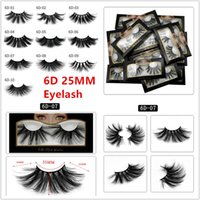 10style hot selling 25mm false eyelash 5d mink hair 6d three...