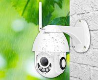 Nuova telecamera IP WiFi 2MP 1080P wireless PTZ Speed Dome CCTV IR OnVIf Camera Surveillanza per la sicurezza all'aperto Ipcam Camara Esterno