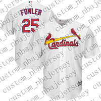 Cheap Custom Dexter Fowler Cool Base jerseys Stitched Any na...