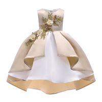Año nuevo vestido de princesa Vestido de niña de flores Boda de verano Fiesta de cumpleaños Vestidos Para niñas Niños Niña de navidad