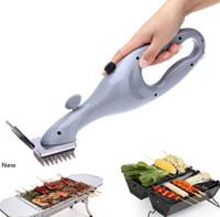 Aço inoxidável para churrasco escova de limpeza Outdoor Grill Cleaner com ferramentas de vapor potência de aquecimento Limpeza Acessórios KKA7903