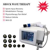 uso Inicio máquina de ondas de choque de presión de aire para la disfunción eréctil / terapia TOCH onda de choque física para el alivio del dolor de cuerpo