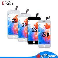 iPhone 6 6 Plus 6S 6S Artı DHL Kargo İçin Toptan-LCD Ekran Dokunmatik Sayısallaştırıcı Çerçeve Montaj Tamir