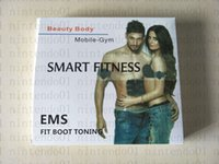 Drahtlose Muskel Stimulato EMS Stimulation Körper Abnehmen Beauty Professinal Körper Abnehmen Massagegerät Home Fitness Gürtel Unisex