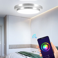 AC85- 265V Ceiling lights RGBCW WiFi Smart Light Dimmable Mul...