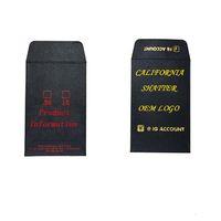 OEM Doucher Enveloppe Edibles Concentrer Fleur Emballage ODM Paper Sacs Mini Coin Enveloppes Pleine Colore Impression Couleur Stamping