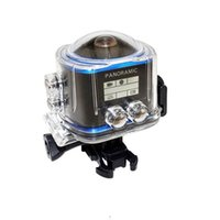360 Panoramic Action Camera Wide Angle WiFi Waterproof Camer...