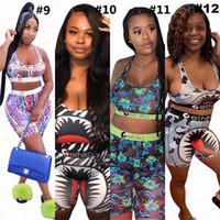 2020 Tasarımcı Kadınlar Mayo Bikini Çiçek Moda baskı mayo Spor Bra + Swim Tozluklar Pantolon Kıyafetler Beachwear Eşofman D63003