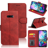 Luxury Flip Leather wallet Case For LG G8X G8s V50 ThinQ K40...
