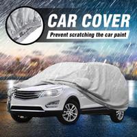 Couverture de voiture L / XL Taille SUV Couvre Couvertures Couvertures de Snow Ice Sun Rain Résistant Protection Résistant imperméable anti-poussière extérieure