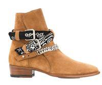 رجال وايت السائق أحذية كعب مرصوف البقرة الجلد المدبوغ انكه أحذية الرجال SLP تشيليس أحذية بالاضافة الى حجم 38-46