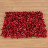 60 * 40 см Искусственные цветы DIY ткани шелковые цветы Wall свадебные украшения Поддельные цветок гортензии Birthday Party задников товары