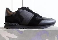 newest 7322f 8872f 5A + qualidade! Sapatos da marca de Moda Rebite Do Parafuso Prisioneiro  Camuflagem Tênis de