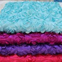 Rosenblatt Teppich 30m / lot Hochzeit Gang Läufer weiße Rose Blütenblatt Teppich für Hochzeit Mittelstücke begünstigt Dekoration Lieferungen EEA340