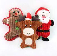Mascota Cuerda de algodón Juguete para perro Molares Masticar Juguete Cachorro Limpieza dental Hueso mordida Juguete para la dentición para perros pequeños, medianos, grandesNew Christmas Sa