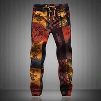 Mens Joggers 2019 new Brand Male Trousers Men Linen Pants Ca...