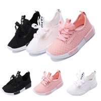 Kids Sports Running Shoes Boys Girls Trainers Sneakers Baby Infant Mesh Casual boy kids shoes sneakers chaussure garcon enfant