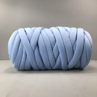 Super Chunky Cotton Yarn Arm Knitting Vegan Yarn Giant Bulky...