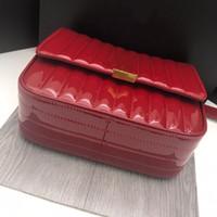 المرأة رفرف سلسلة الكتف جودة عالية حقيبة النفط الشمع الحقيقي جلد محفظة رسول حقيبة يد 25 سنتيمتر حمل الحقائب