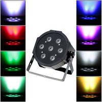 LED 무대 조명 사운드 활성화 회전 효과 PAR 조명 RGB 스트로브 램프 크리스마스 파티 5/8 채널 조명 홈 KTV 디스코 DJ