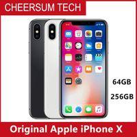 원래 잠금 해제 된 애플 아이폰 x 4g LTE 휴대 전화 5.8 'OLED 12.0MP 3G RAM 64G / 256G ROM 핸드폰 무료 DHL