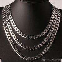 YHAMNI originale argento 925 collana uomini collana uomini gioielli 8mm collana di dichiarazione di moda vendita calda full side collana YN034